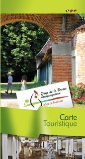 Carte Touristique du Pays de la Bresse Bourguignonne