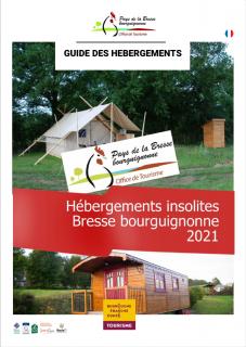 Hébergements Insolites en Bresse bourguignonne 2021