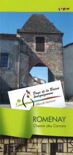 Plan Touristique de Romenay