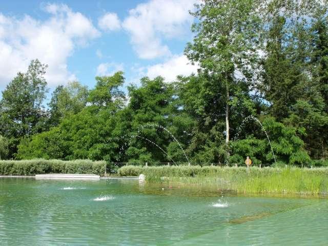 Plans d'eau aménagés pour la baignade
