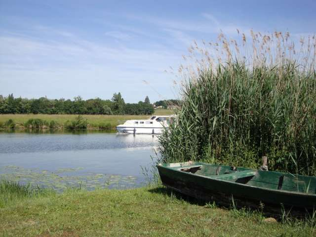 Boat launch for small boats