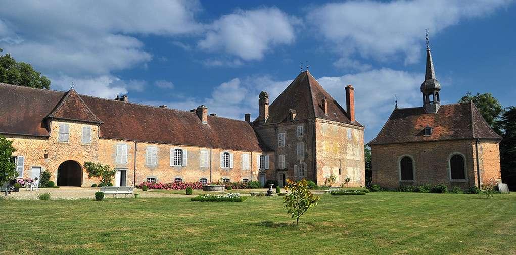Chateau de Beaurepaire en Bresse