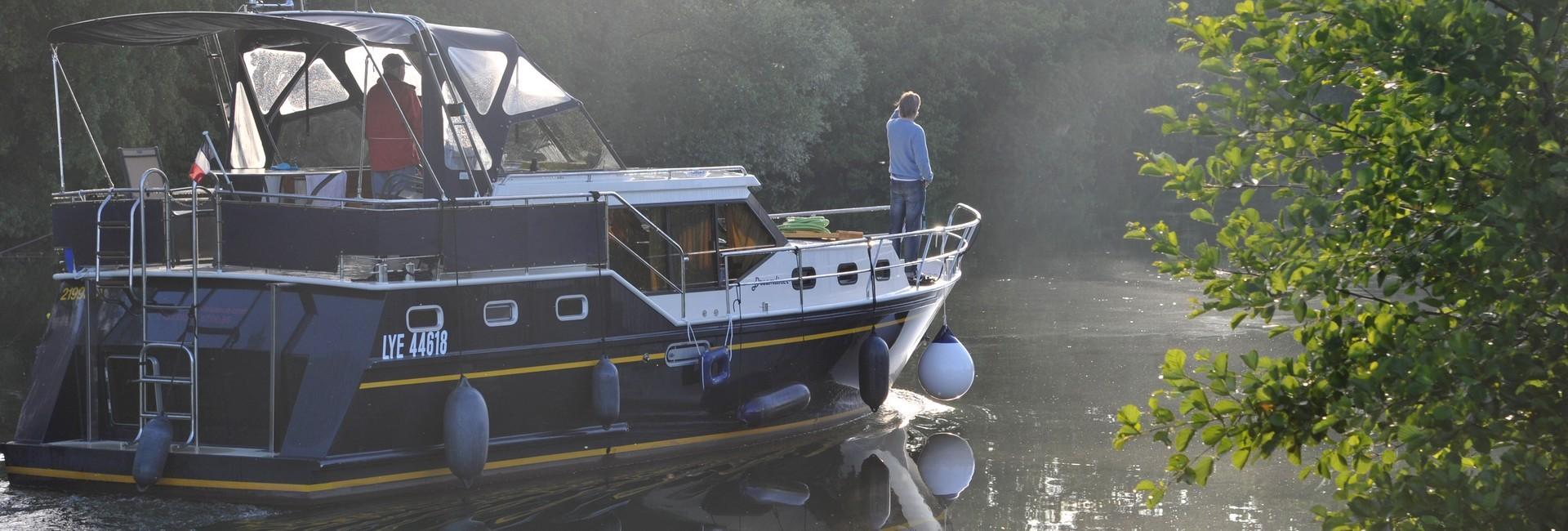 Navigation sur la Seille - Amédée De Almeida