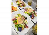 Salade Gourmande au foie gras et magret de Canard fumé