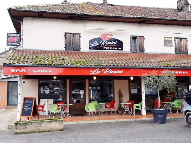 Pizzeria La Rimini Terrasse Romenay
