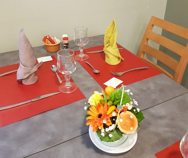 Restaurant Les Terrasses Frangy en Bresse © Les Terrasses