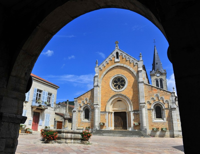 Eglise Cuiseaux©Amédée DE ALMEIDA