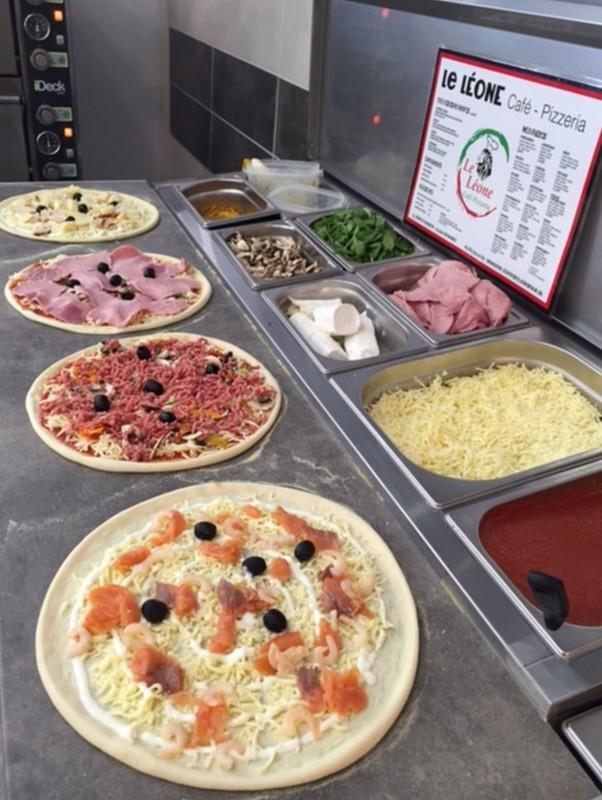 Pizzas @ Le Léone Louhans