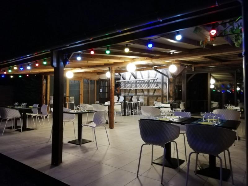 Rustique - Terrasse soir