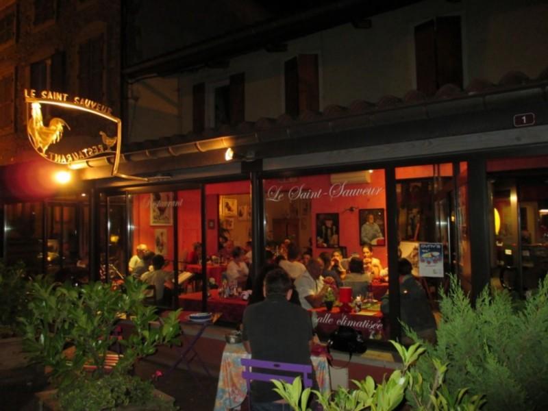 Terrasse @ Le Saint Sauveur