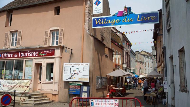 Village du Livre © Mairie Cuisery