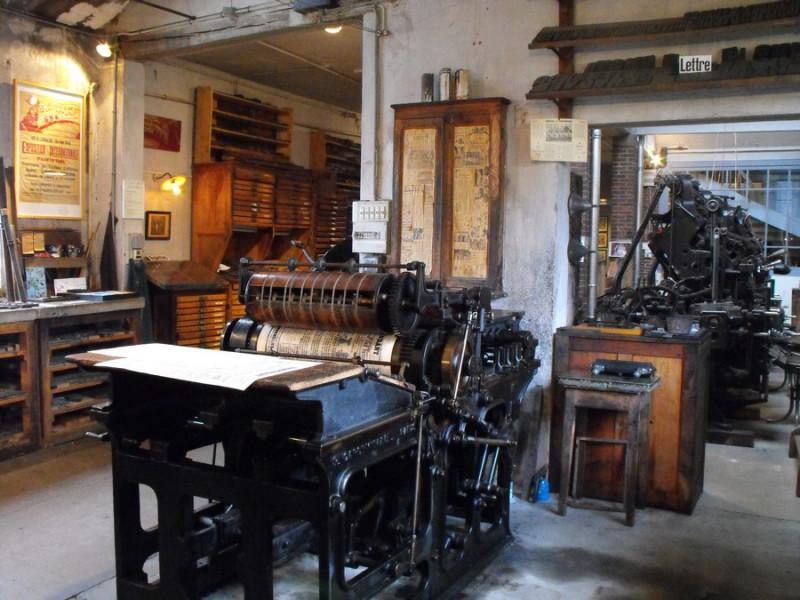 Web - Musée de l'Imprimerie © OTPBB