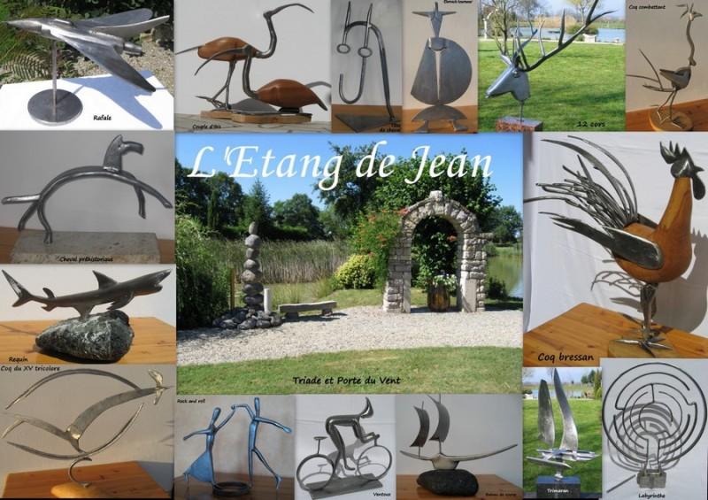 Web - Sculptures © Etang de Jean
