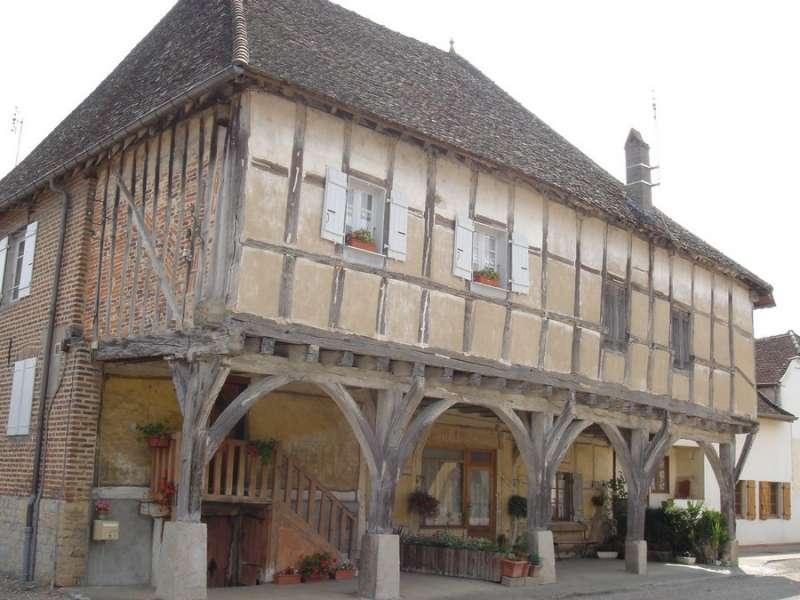 Maison à Arcades - Mervans - Office de Tourisme du Pays de la Bresse Bourguignonne