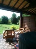 Terrasse avec accès direct au jardin - Le Taillet