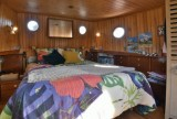 Bateau Loft Marie-Victoria chambre