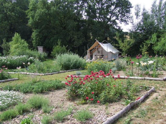Jardin © Ferme de la Marlière
