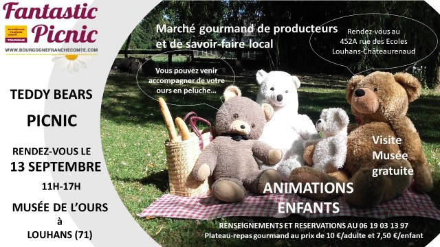 VISUEL TEDDY BEARS FANTASTIC PICNIC 2020