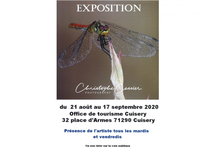 Affiche Expo Christophe Cassier Cuisery